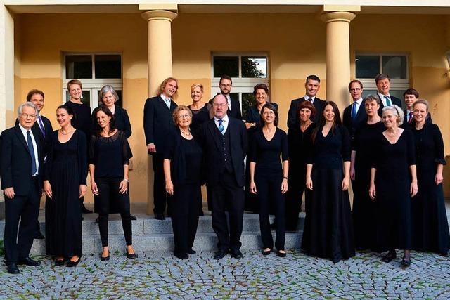 Bewegender Abschied: Das Freiburger Vokalensemble unter Wolfgang Schäfer mit Bachs h-Moll-Messe in St. Trudpert