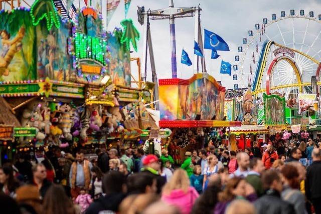 Volksfest auf dem Stuttgarter Wasen ist friedlicher geworden