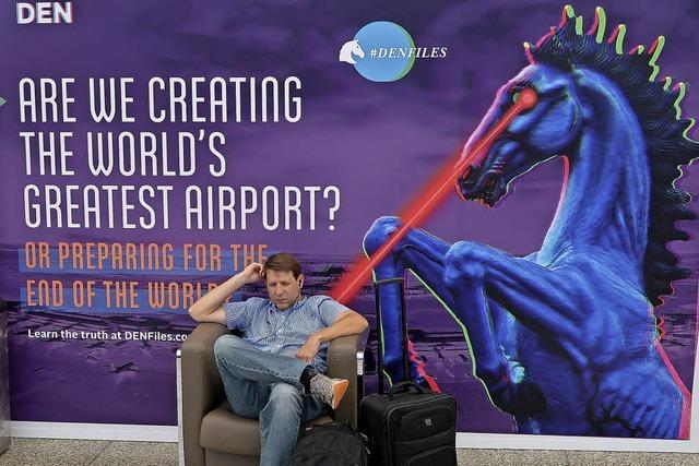 Der Flughafen der Verschwörungstheorien