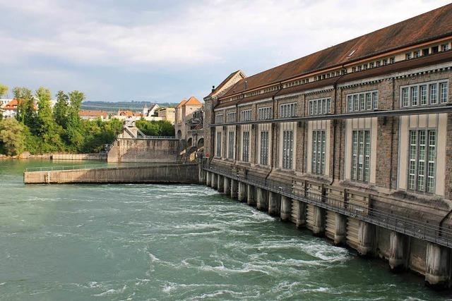 Niedrigpegel bremst Stromproduktion am Hochrhein