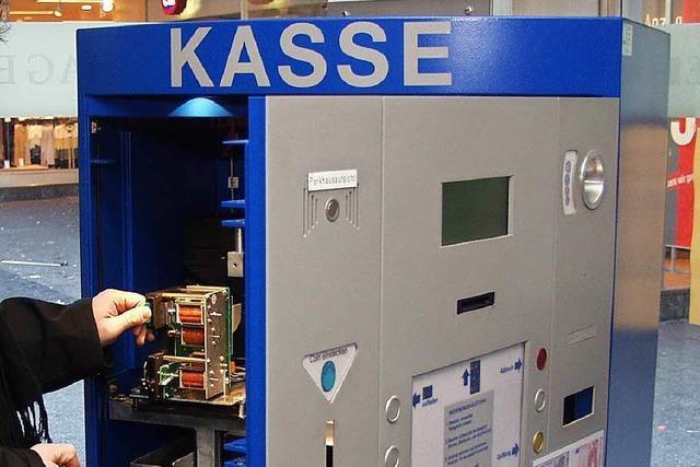 Kassenautomaten in Lörracher Parkhaus geknackt