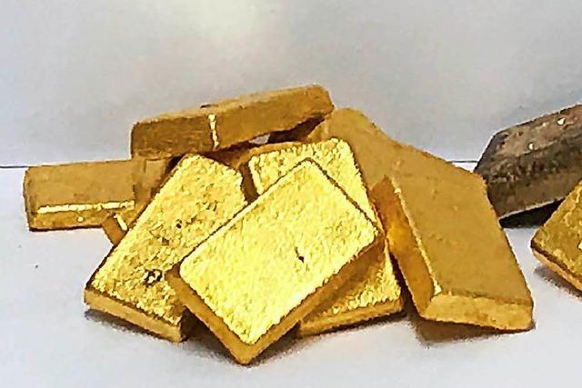 Zoll stoppt verdächtige Goldimporte aus Dubai