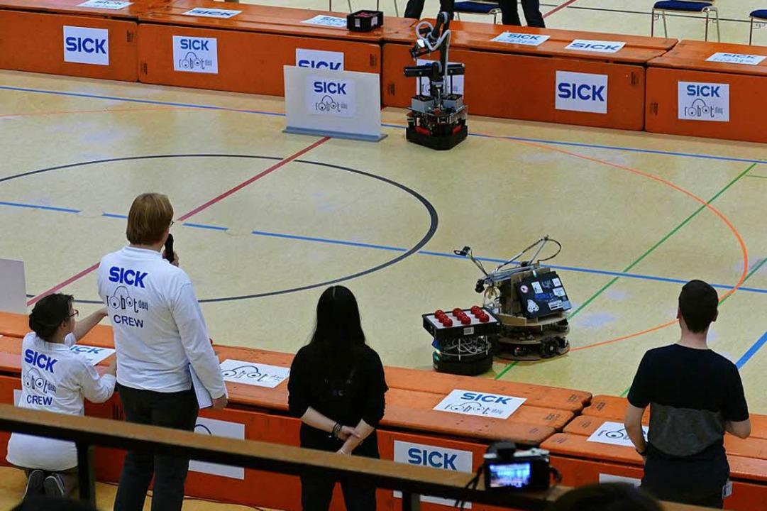 Impressionen vom 7. Sick Robot Day.  | Foto: Sylvia Sredniawa