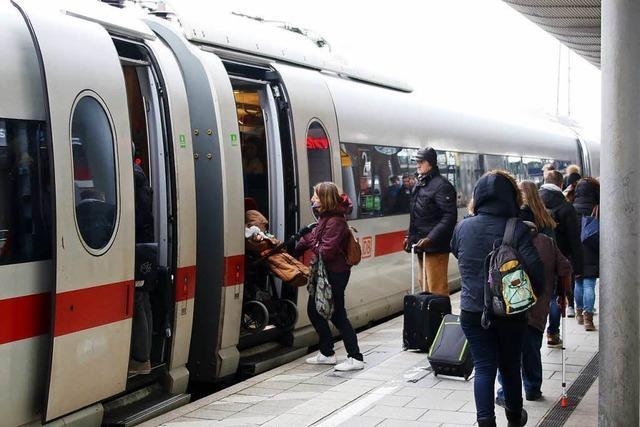 Zugverkehr verkehrt wieder zwischen Basel und Freiburg