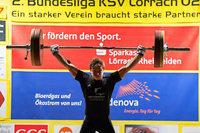 Moritz Huber vom Zweitligisten KSV Lörrach gilt als großes Talent