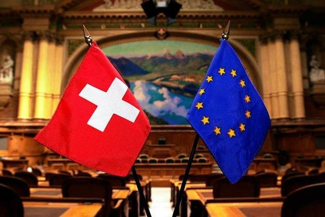 Verhandlungen über neuen Vertrag von EU und Schweiz vor Abbruch