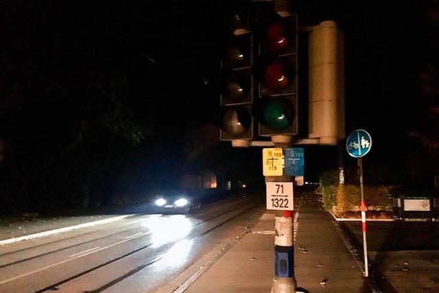 Straßenübergreifender Stromausfall in der Wiehre