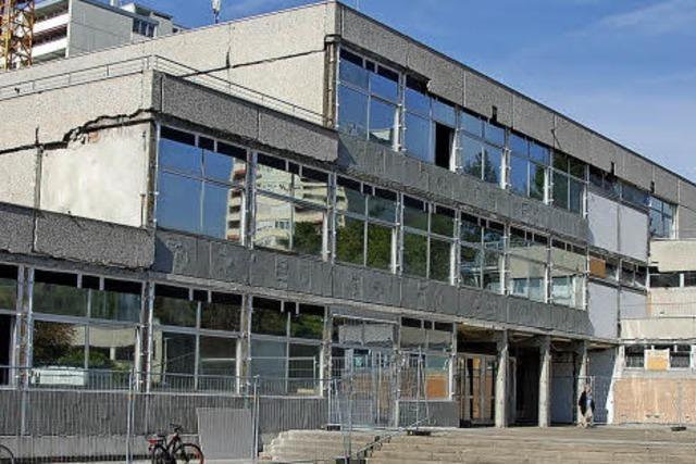 Die Renovierung der Gemeinschaftsschule in Weil am Rhein wurde zur Totalsanierung