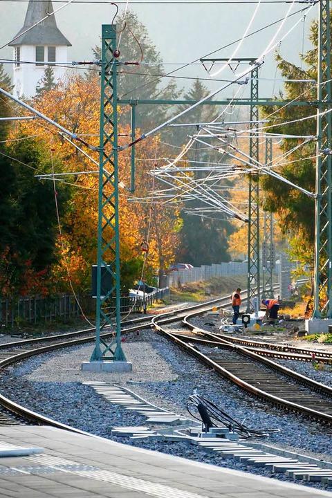 Zwischen Himmelreich und dem Hochschwa...r auch den ganzen November über noch.   | Foto: Tanja bury