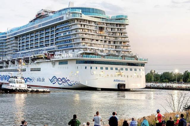 Grünes Schiff ahoi!