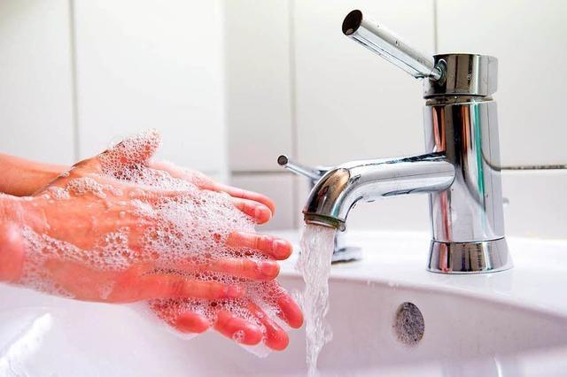 Händewaschen ist ein guter Schutz vor der Grippe
