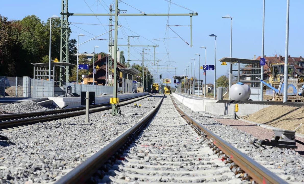 Nur der  Abschnitt der Höllentalbahn v... Strecke nach Titisee verzögert sich.   | Foto: Ingo schneider