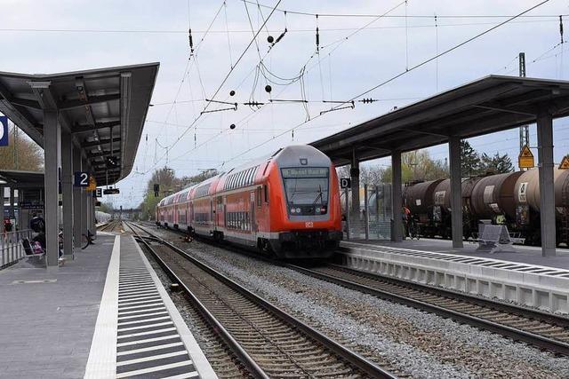 Zugverkehr zwischen Lahr und Offenburg steht still