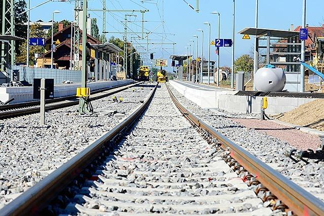 Der Ausbau der Höllentalbahn verzögert sich