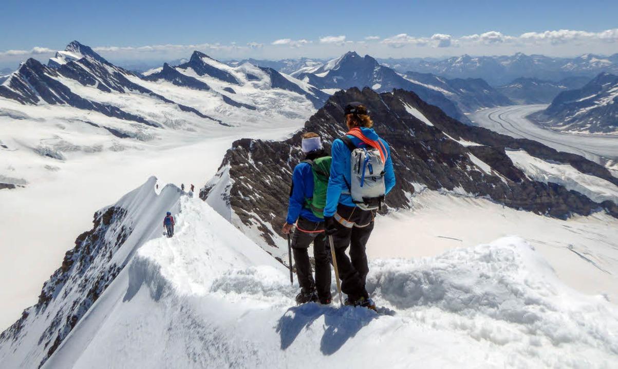 Leichtester Klettergurt Welt : Auf schmalem grat panorama badische zeitung