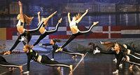 Marsupilami tanzt zu Bronze bei der Europameisterschaft