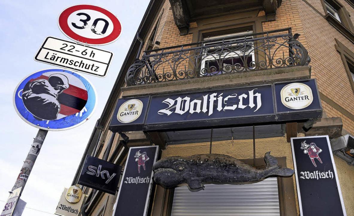 Ganter hat zwei Interessenten für die Punkrockkneipe Walfisch.   | Foto: Thomas Kunz