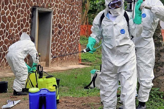 Furcht vor einer Ebola-Epidemie
