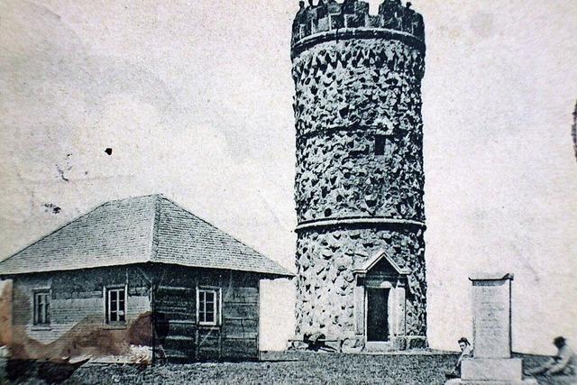 Warum Schweizer vor 160 Jahren den Feldbergturm schwarz angemalt haben
