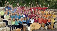 Voices und Percussion: Das Buschorchester verbreitet afrikanisches Feeling und animiert zum Tanzen