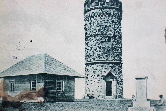 Warum Schweizer einst den Feldbergturm schwarz anmalten
