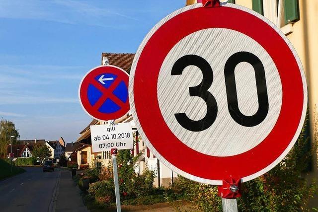 Tempo 30 gilt nur für Auswärtige