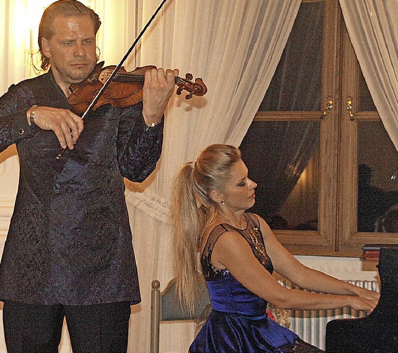 Ein ganz außergewöhnliches Konzerterle...r, im Festsaal des Kollegs St. Blasien  | Foto: Karin Stöckl-Steinebrunner