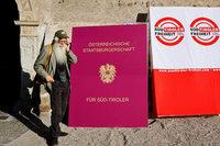 Separatisten in Südtirol fordern die Rückkehr der italienischen Region zu Österreich