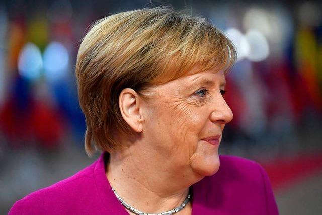 Plötzlich spielt Merkel eine Hauptrolle