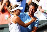 Angelique Kerber geht ohne Trainer in die Finals