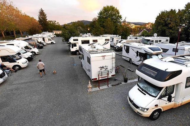 2019 muss der Wohnmobilstellplatz Platz für Wohnungen machen