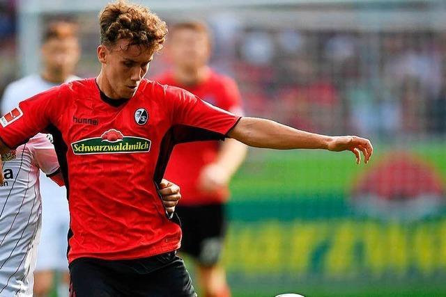 1:1 zur Halbzeit: Nils Petersen wird eingewechselt