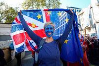 Hunderttausende protestieren in London gegen den Brexit