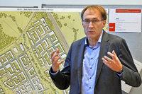 Baubürgermeister Martin Haag soll am Dienstag wiedergewählt werden