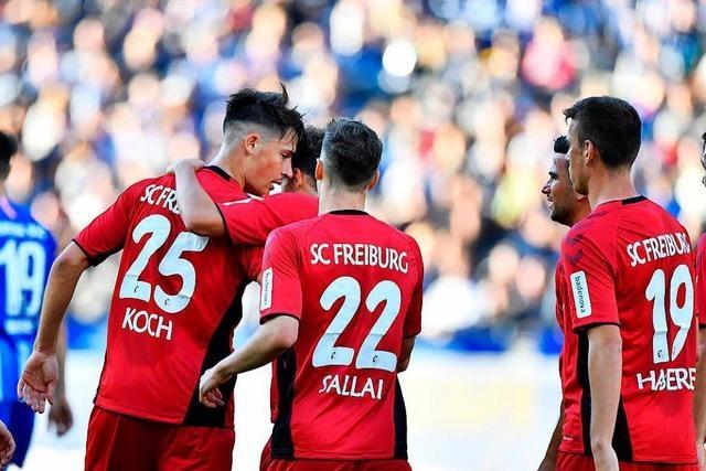 Auswärtspunkt: Sportclub spielt 1:1-Remis in Berlin