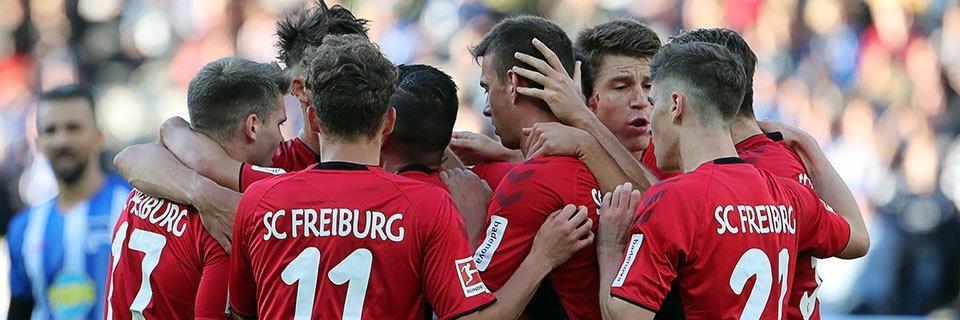 Auswärtspunkt: Sportclub Freiburg spielt 1:1-Remis in Berlin