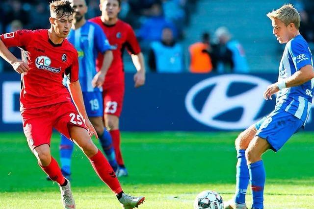 Umkämpftes 1:1-Unentschieden in Berlin