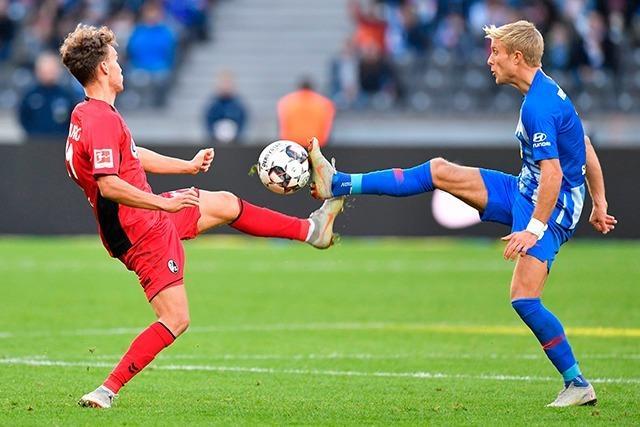 Liveticker zum Nachlesen: Hertha BSC Berlin - SC Freiburg 1:1