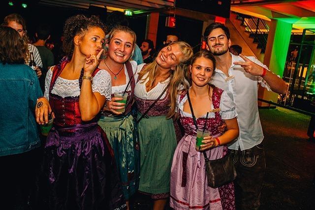 Fotos: So war's bei der Mensa-Party in der Uni Freiburg