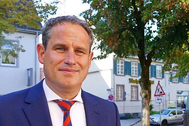 Dirk Harscher gewinnt die Bürgermeisterwahl in Schopfheim