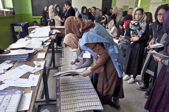 Gewalt und Chaos bei Wahl