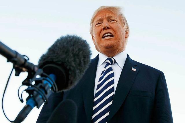 Trumps Tanz auf dem Seil