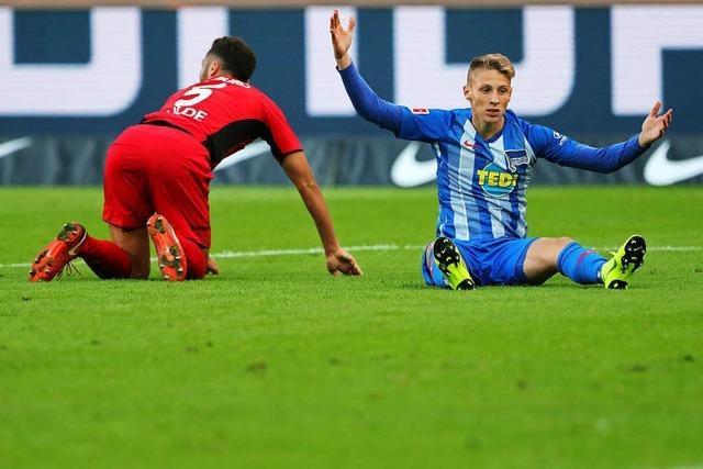 Wie dem SC Freiburg mit dem 1:1 bei Hertha BSC Berlin ein kleiner Coup gelang