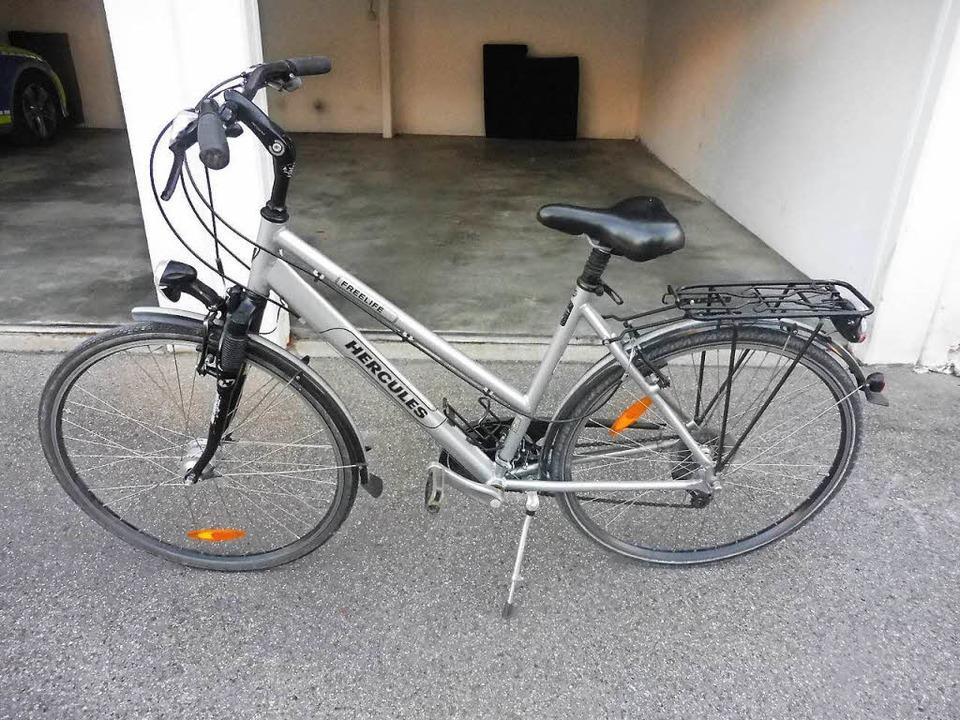 Dieses Damenrad der Marke Hercules hat die Polizei gefunden  | Foto: Polizei
