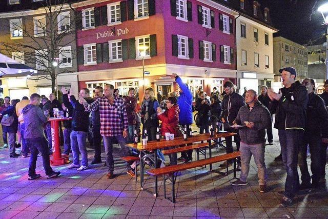 Lichtereinkauf mit Foodtruck-Festival