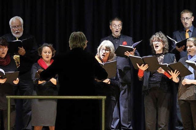 Jede Stimme im Chor überzeugt