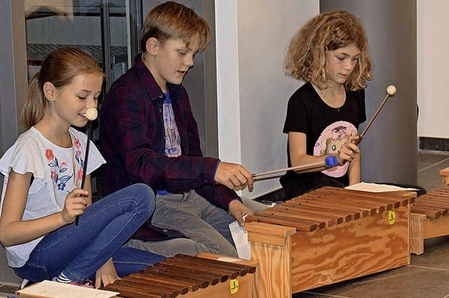 Von der Klarinette bis zur Marimba