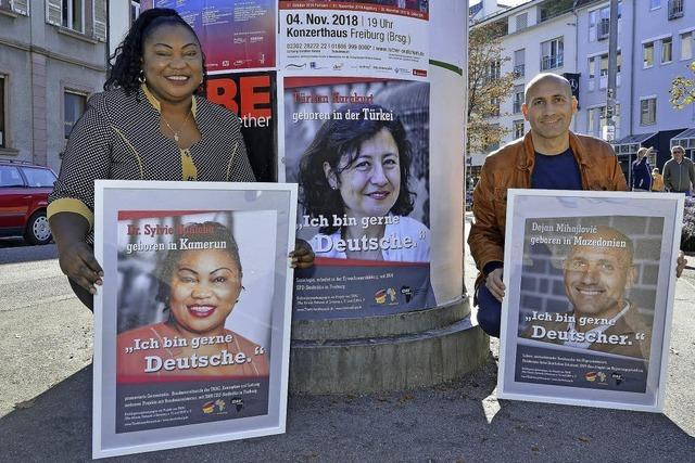 Kampagne für die Einbürgerung