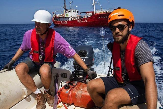 Zwei Freiburger sprechen von ihren Erfahrungen als Seenotretter auf dem Mittelmeer