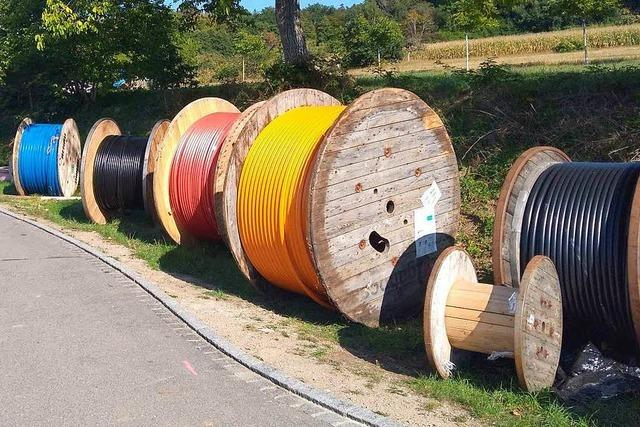 Der Glasfaserausbau im Landkreis Lörrach kommt voran